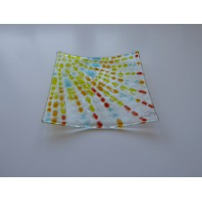 Sunburst 2 small square dish